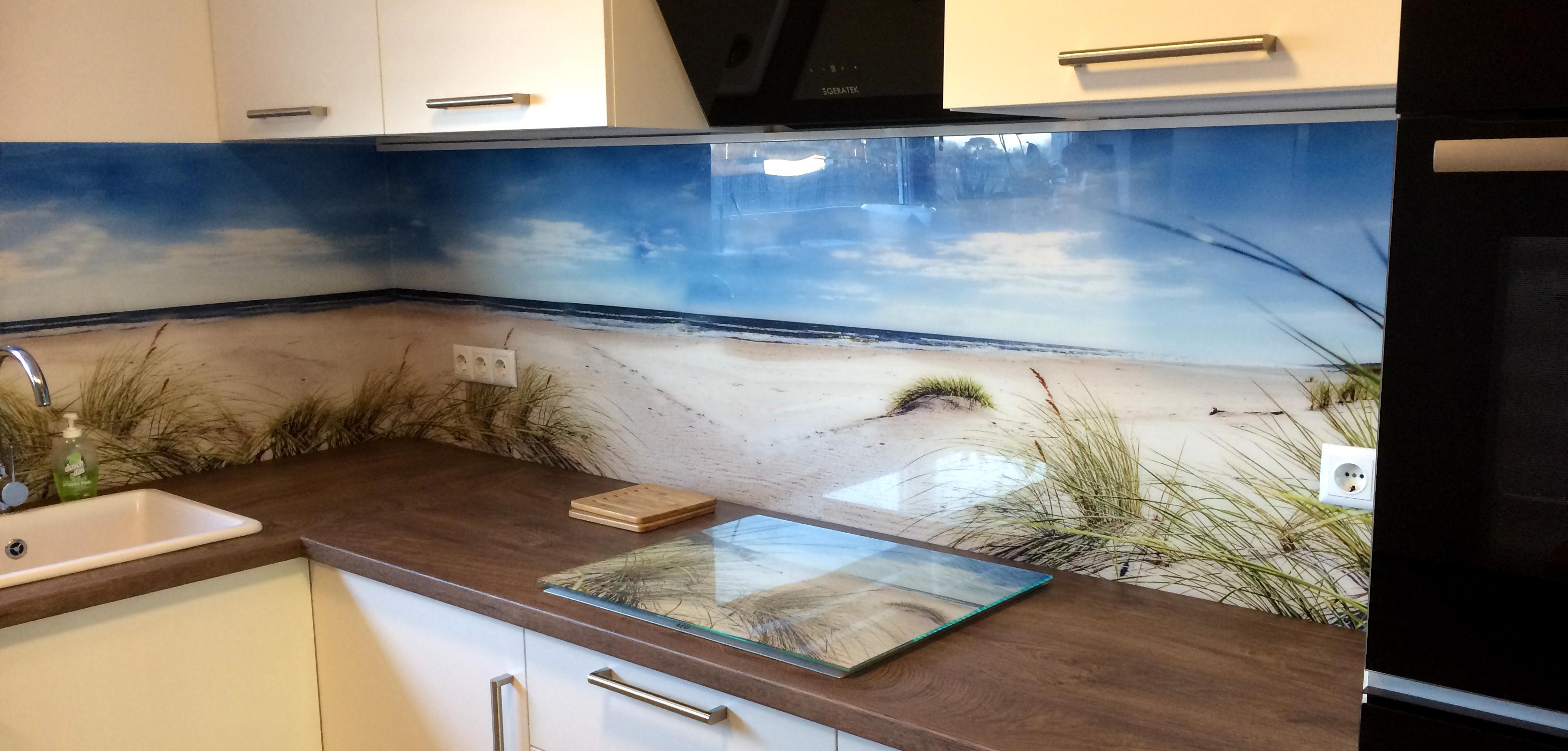 Küchenrückwand nach Maß - Küchenrückwand mit Motiv