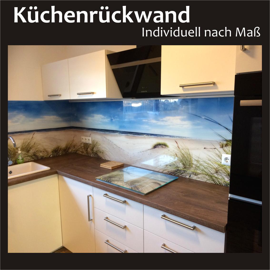 Küchenrückwand nach Maß - Küchenrückwand, Fliesenspiegel, Spritzschutz