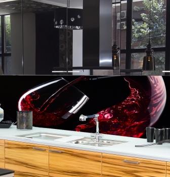 Küchenrückwand nach Maß - aus GLAS