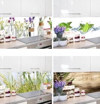 Küchenrückwand nach Maß - aus Alu DIBOND® ( Das Original)aus Alu ...