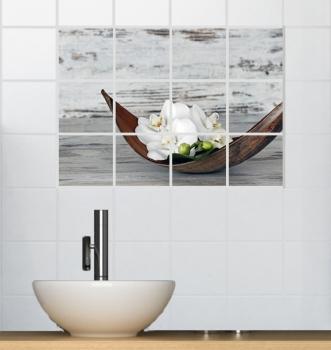 Fliesen Aufkleber Sticker Badezimmer Kuche Deko 60x45 Cm Fls 12