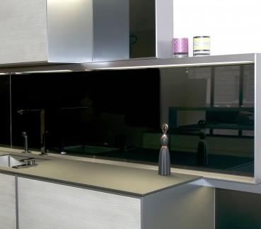 Küchenrückwand nach Maß - Küchenrückwand einfarbig