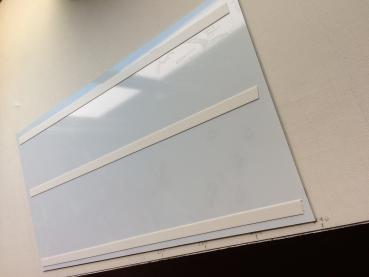 k chenr ckwand nach ma spiegelklebeband wei 19mm. Black Bedroom Furniture Sets. Home Design Ideas